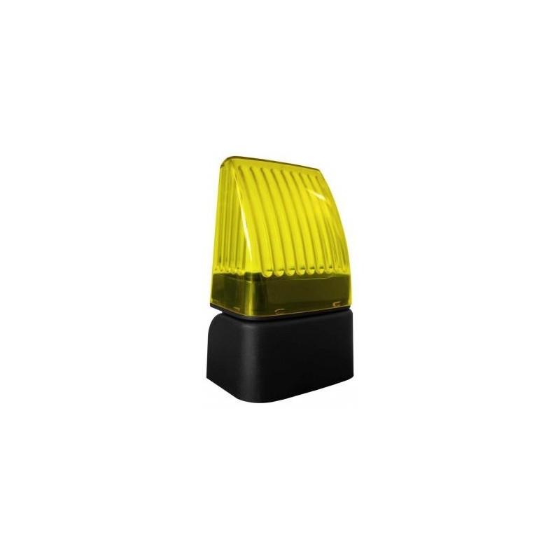 feu clignotant orange led 12 24 230v pas cher ekoenig domotique. Black Bedroom Furniture Sets. Home Design Ideas