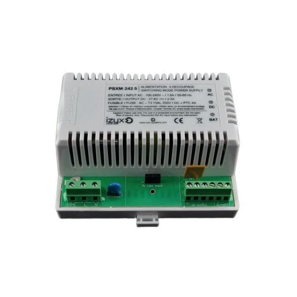 MODULES ALIMENTATIONS CHARGEURS de batterie 24V DC / 1,5A, ou 2. 5A,