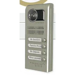 Interphone visio GSM 3G 4 boutons intratone
