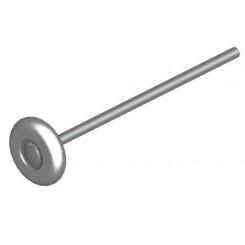 Roulette en acier porte coupe feux
