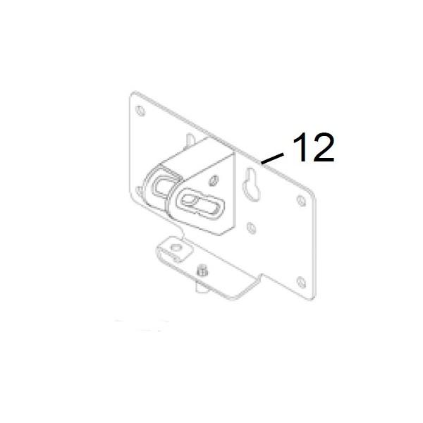 Support moteur pour fixation du moteur au tablier NORMSTAHL