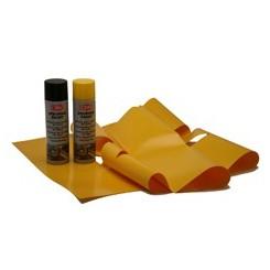 Kit marquage au sol jaune et noir pour porte et portail