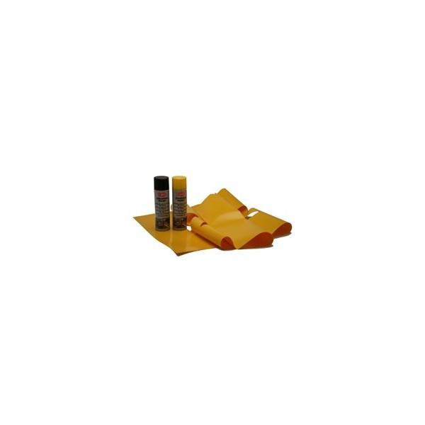 kit marquage au sol jaune et noir pour porte et portail ekoenig domotique. Black Bedroom Furniture Sets. Home Design Ideas