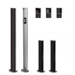 Piliers en aluminium GARDO 50 ET 100  pour photocellules et accessoires V2
