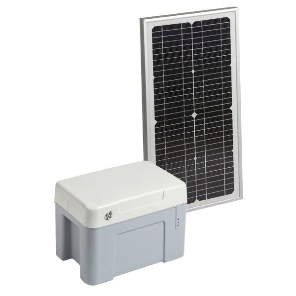 Kit de batterie par alimentation solaire Eco-logic  pour automatisme autonome en 24 V