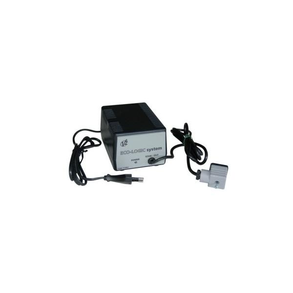chargeur pour kit de batterie par alimentation solaire eco logic pour automatisme autonome en 24. Black Bedroom Furniture Sets. Home Design Ideas