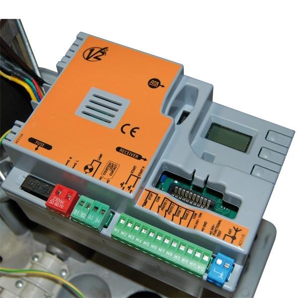 FORTECO 2500-i V2HOME Moteur irréversible 230V pour portails coulissants jusqu'à 2500 kg technologie INVERTER