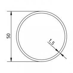 Poulie et couronne d'axe Rond Ø 50 pour adapter les moteurs v2