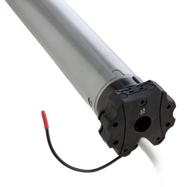 LEF-RFE Motoréducteur tubulaire Ø 45 mm avec fin de course électronique, encodeur et récepteur radio intégré
