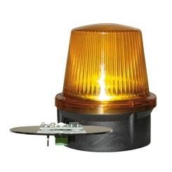 Feu clignotant orange à LED LunaX  pour passage intensif