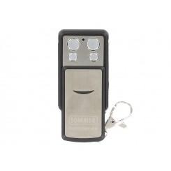 Télécommande Sommer 4031 à clapet INOX fréquence 868 Mhz 4 boutons