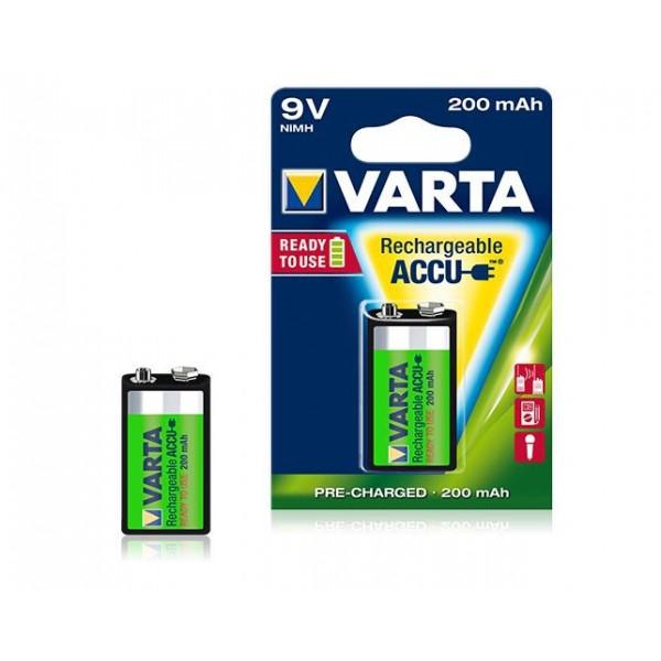 Pile 9v rechargeable varta 1 accu 9v nimh 200 mah - Pile 9v rechargeable ...