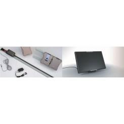 Kit SOLAIRE avec moteur APERTO x box 800 N vous permet d'automatiser la porte même s'il n'y a pas d'alimentation au garage