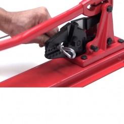 Pince à sertir les câble acier  Ø 2,5 mm à 5 mm sur plateau